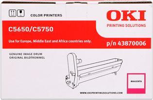 valec OKI C5650/C5750 magenta