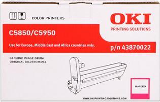 valec OKI C5850/C5950, MC560 magenta