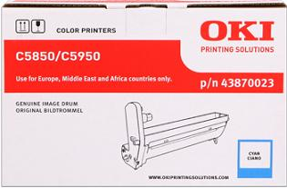 valec OKI C5850/C5950, MC560 cyan