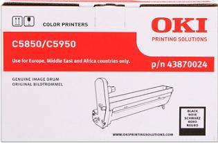 valec OKI C5850/C5950, MC560 black