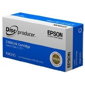 kazeta Epson PJIC1(C) Discproducer PP-50, PP-100/N/Ns/AP cyan