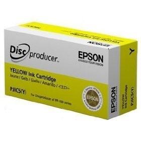 kazeta Epson PJIC5(Y) Discproducer PP-50, PP-100/N/Ns/AP yellow