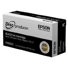 kazeta Epson PJIC6(K) Discproducer PP-50, PP-100/N/Ns/AP black