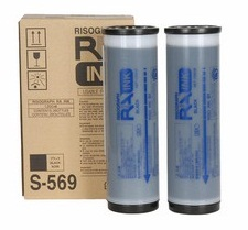 toner (ink) RISO S-569 RA/RC 4000/6300 serie black (2ks v bal.)