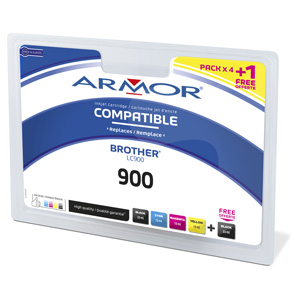 multipack ARMOR BROTHER DCP-110/115 (LC-900)