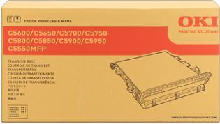 transfer belt OKI C5600/C5650/C5700/C5750/C5800/C5850/C5900/C5950, C5500MFP, MC560, C710