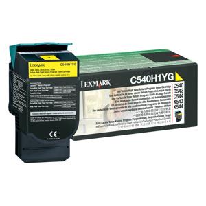 Toner Lexmark C540,C543,C544,X543,X544 Yellow 2K