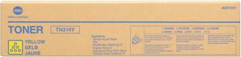 toner MINOLTA TN314Y Bizhub C353 yellow